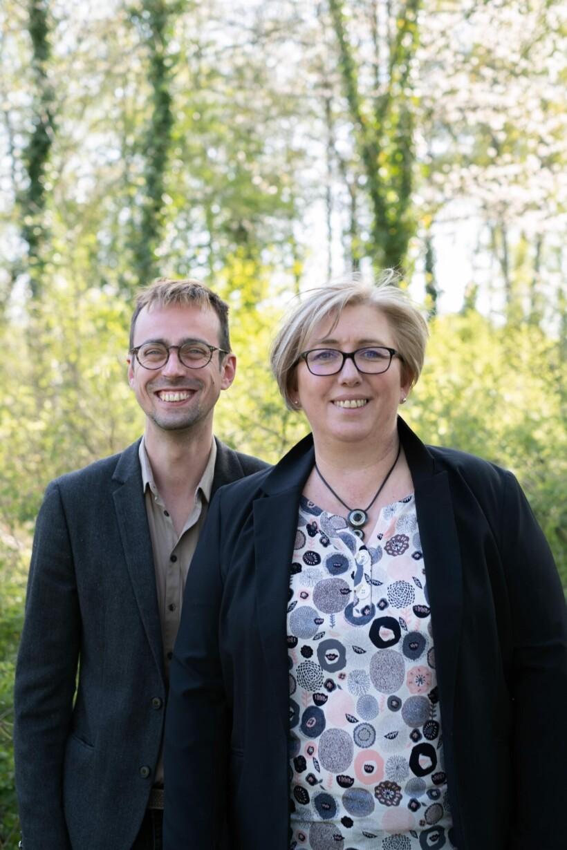 Canton Canton de Liévin  - Franck Robillard et Marjorie Delonghai