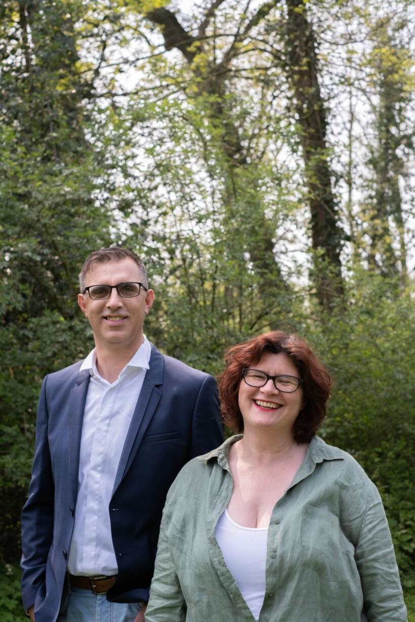 Canton canton de Marly - Julien Czapski et Elisabeth Cattiau