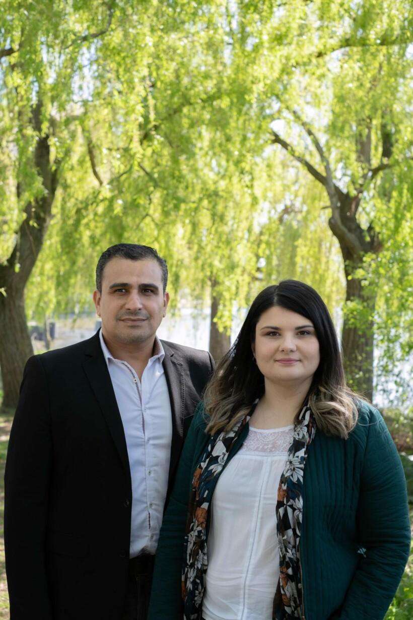 Canton Canton de Tourcoing 2 - Ali Laazaoui et Katy Vuylsteker
